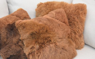 Alpaca Fur Pillows